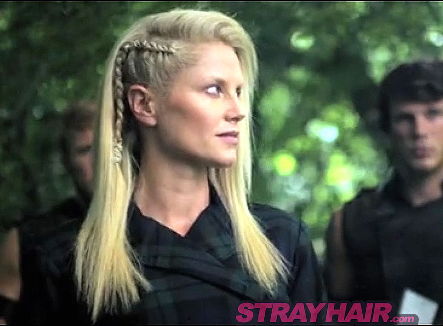 Zypher Ellen Hollman Into the badlands awesome side braid hairstyle