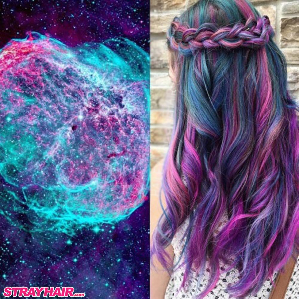 nebula hair color