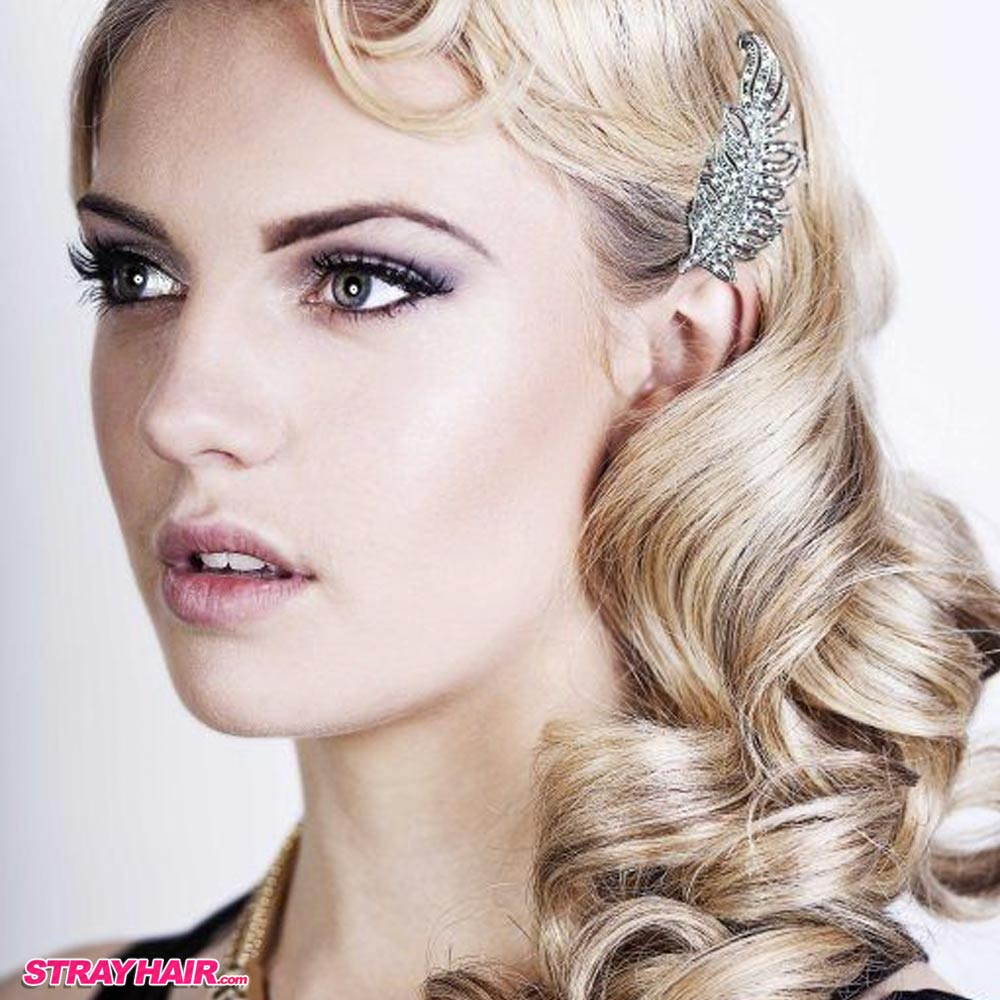 Hairstyles In The 20s : Great Gatsby 20s Style Hair And Makeup Great Gatsby 20s Style Hair ...