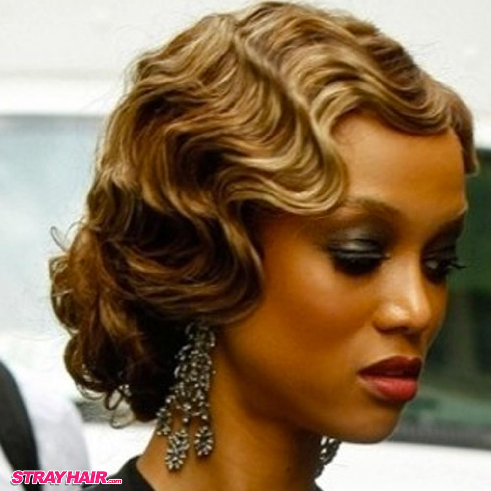 Great Gatsby 20s Style Hair Finger Waves