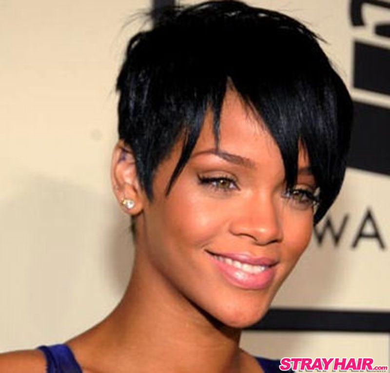 rihannas many great short hairstyles � strayhair