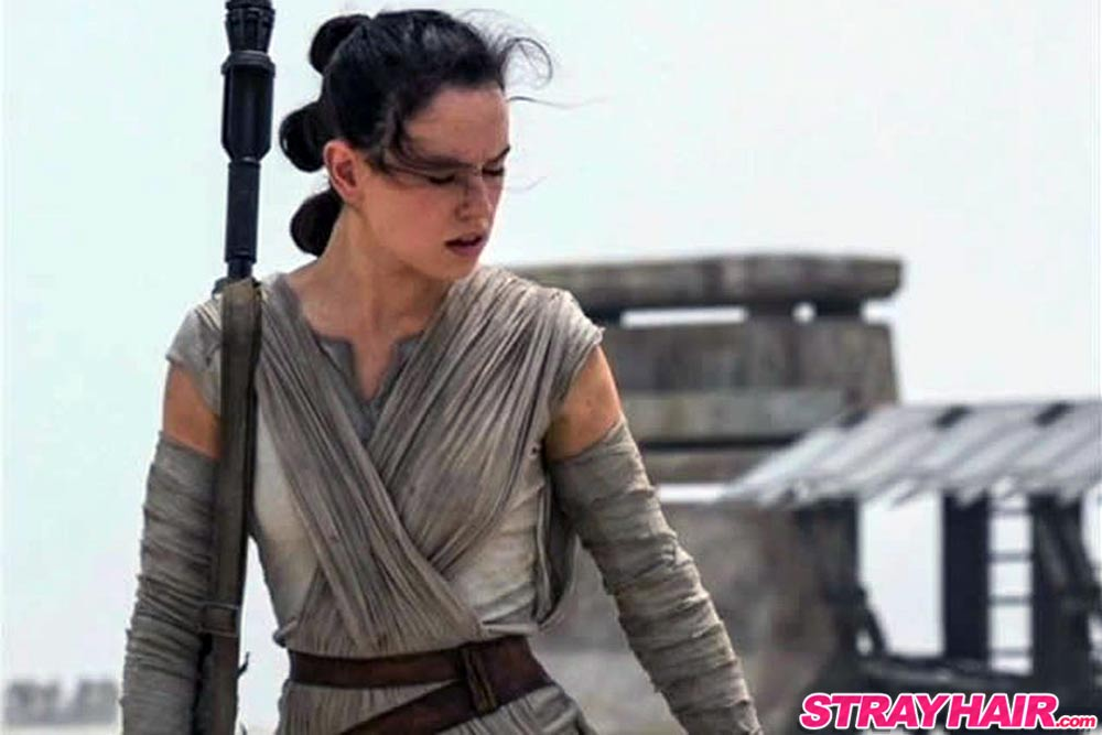 Star Wars Force Awakens Daisy Ridley Hairstyle