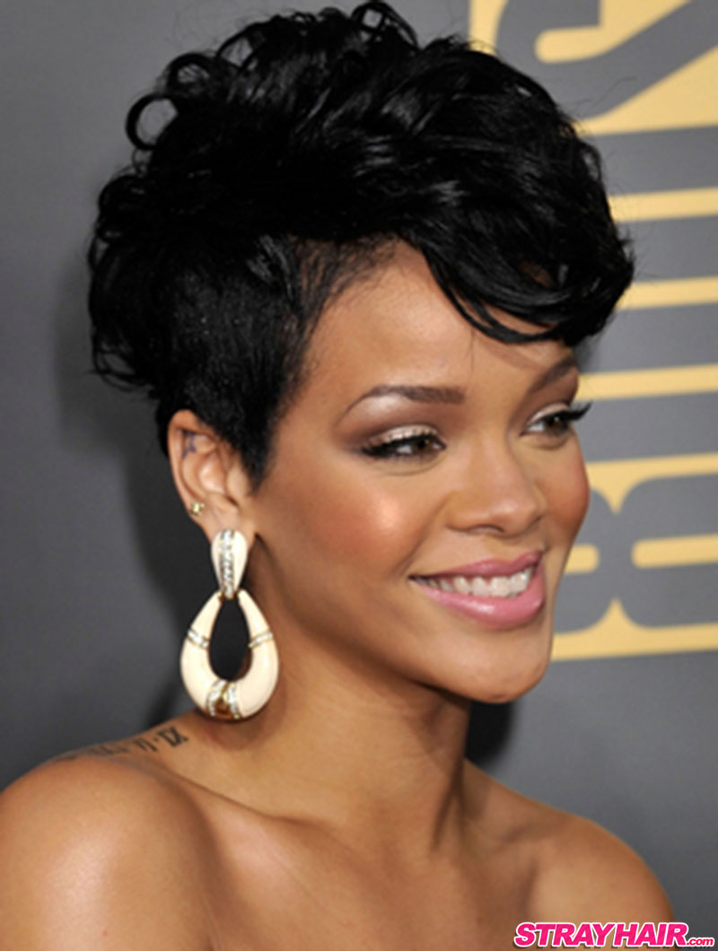 short hairstyles rihanna