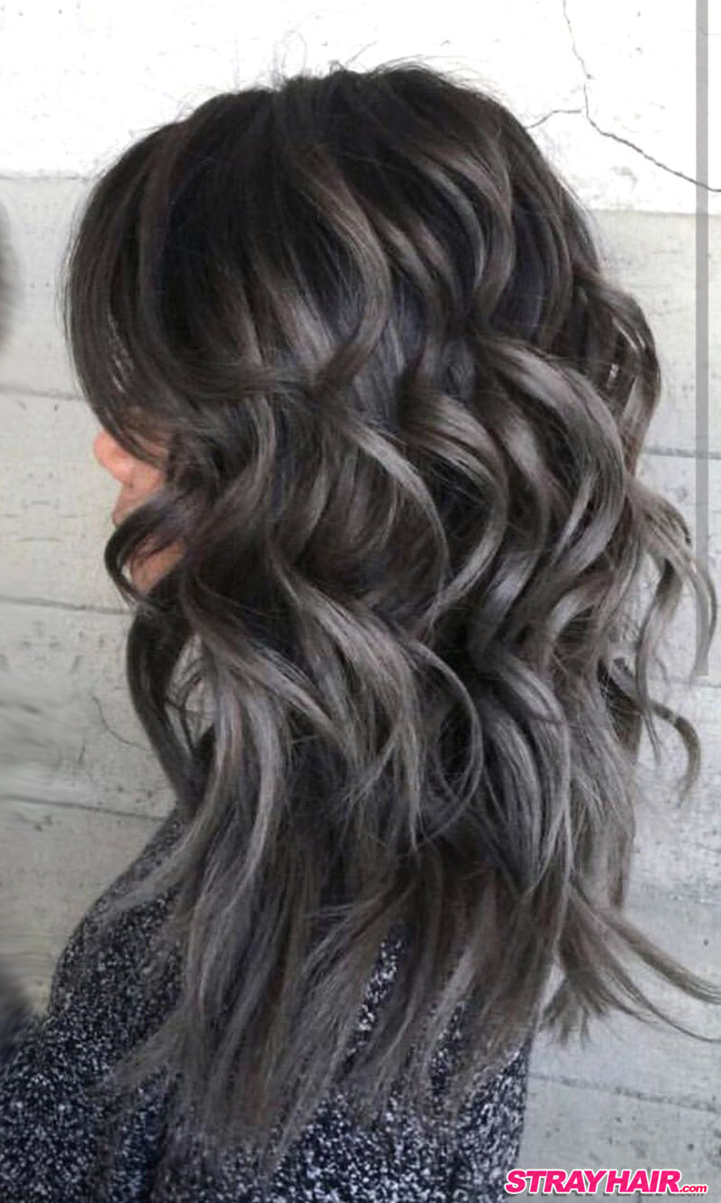 Charcoal Gray Hair Color