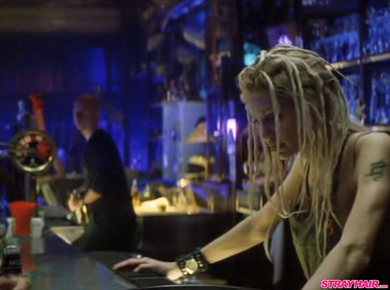 Angelina Jolie Gone In 60 Seconds Blond Dreads Hairstyle