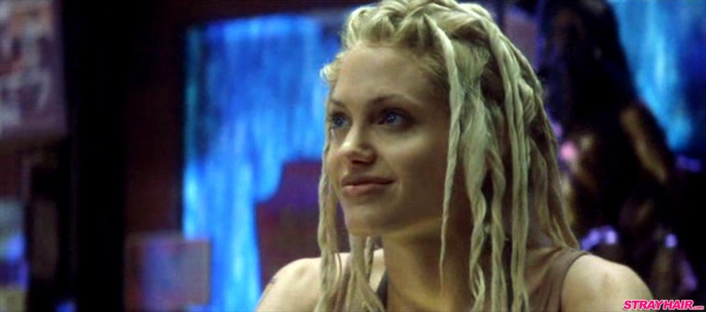 Angelina Jolie Sway Gone In 60 Seconds Faux-Dread Hairstyle
