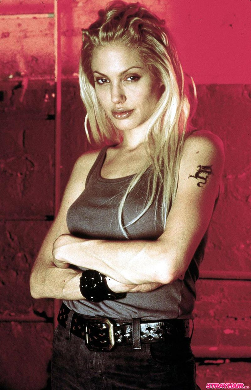 Angelina Jolie Sway Gone In 60 Seconds Hairstyles