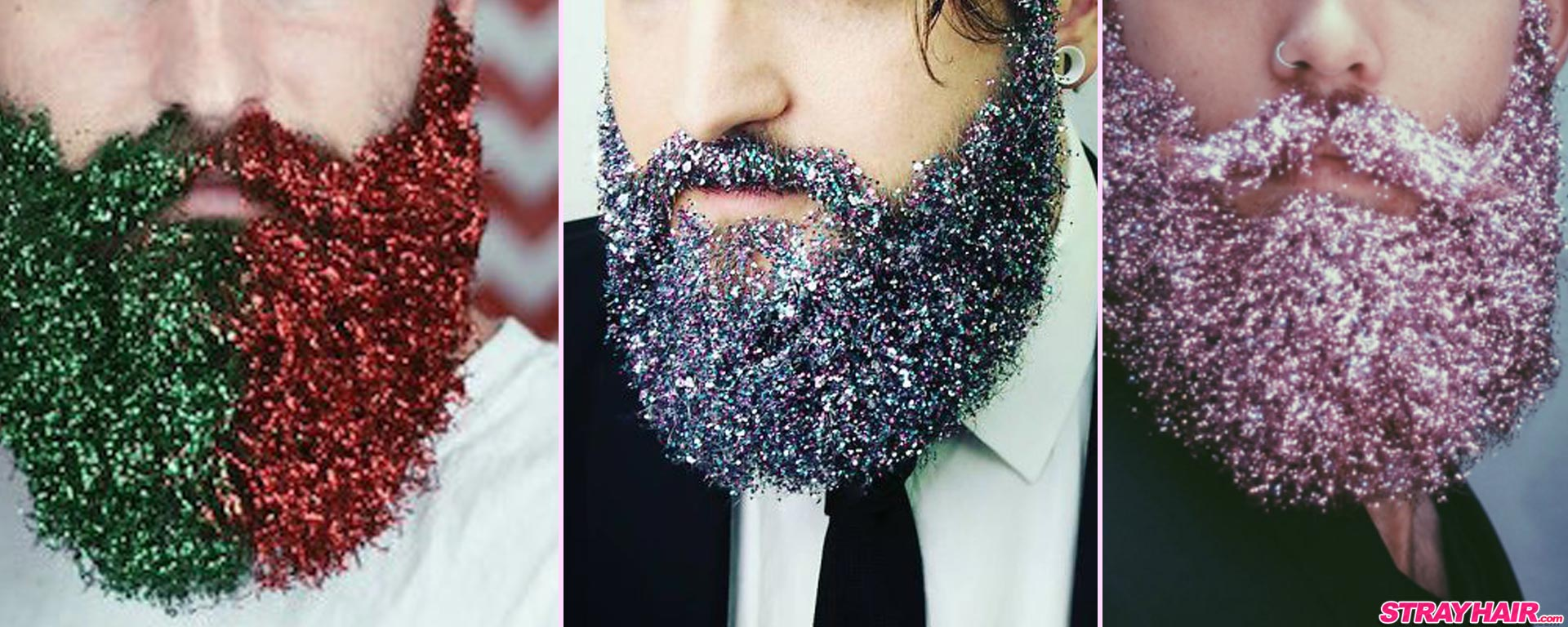 fabulous glitter sparkles beards