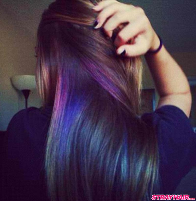 Oil Slick Hair Color Is One Of The Most Amazing Things Youve Ever Seen With