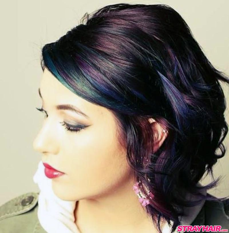 oil slick hair colors