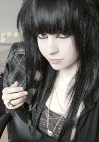 Emo hairstyle Girls long hair 1