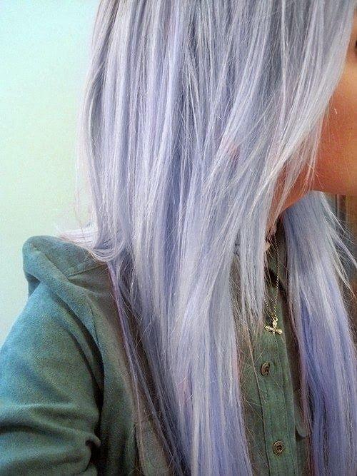 Lavender Hair Fishtail Braid Lavender Hair