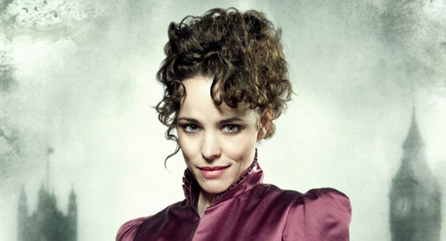 Rachel McAdams great classy looking curly up-do in Sherlock Holmes