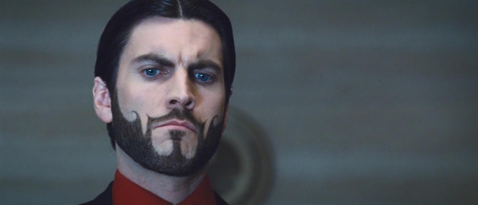 Wes Bentley as Seneca Crane in the hungergames crazy facial hair