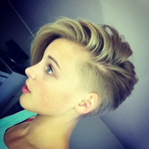 10 Side Undercut Hairstyles For Women Strayhair