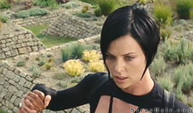 Charlize Theron Aeon Flux Hairstyle   Nude Naked Pussy