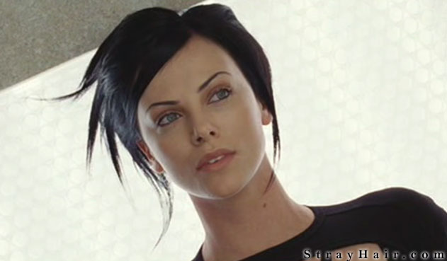 charlize theron aeon flux hairstyle