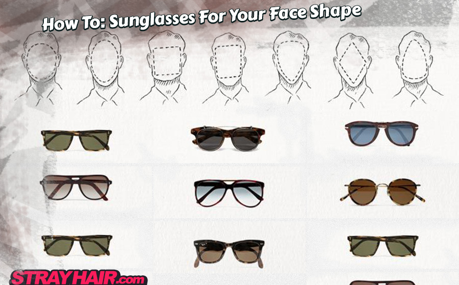 Sunglasses for men – Choosing the right shades for your face shape ...