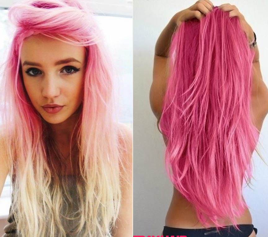 hair colour styles 20 pink hairstyle pics hair color inspiration strayhair 6732