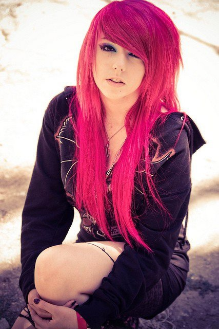 really amazing pink hair