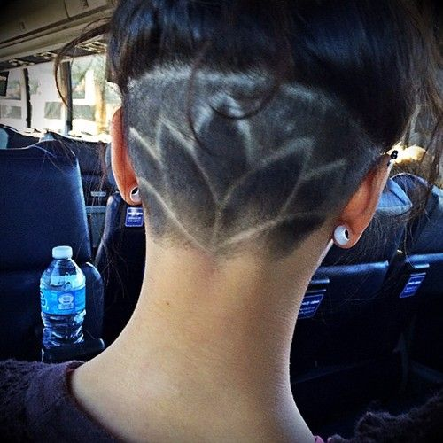 12 Nape Undercut Hairstyle Designs Strayhair
