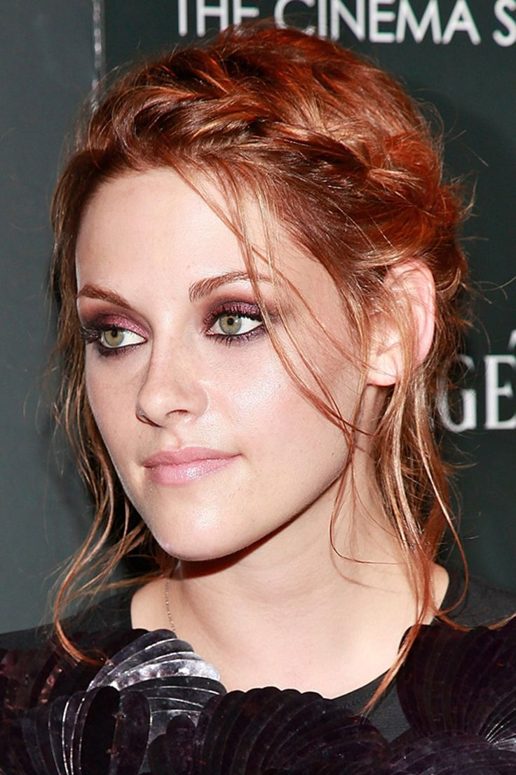 Kristen Stewart cute braided updo