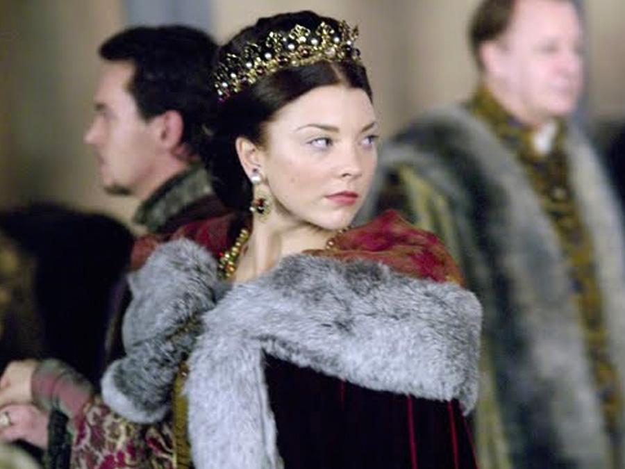 Queen Hairstyles: Natalie Dormer Hairstyles As Anne Boleyn In The Tudors