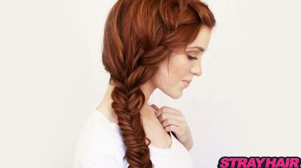 Summer fishtail braid