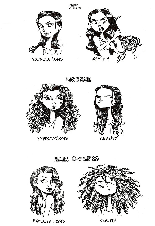 great hair expectations comic funny