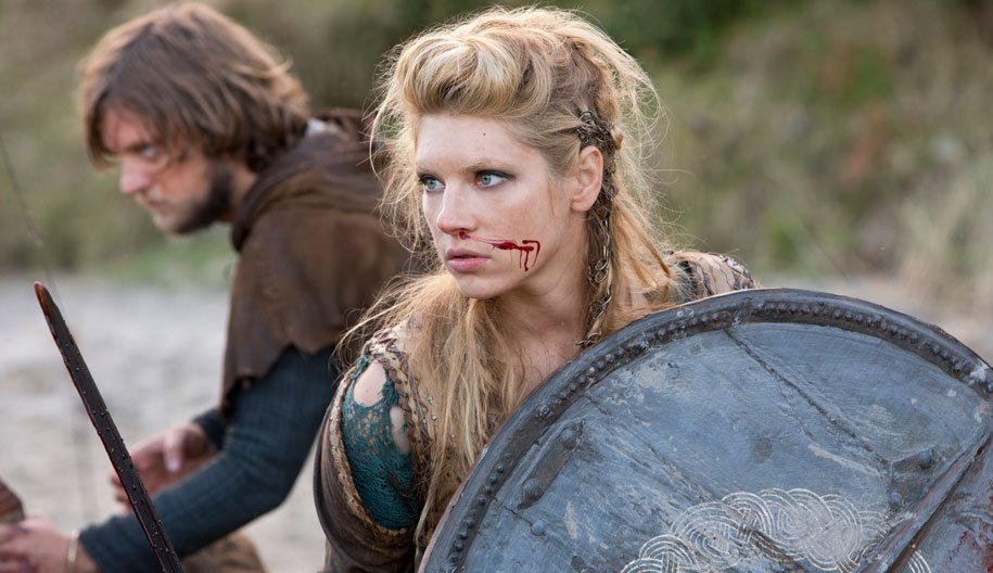 Katheryn Winnick vikings shield maiden hair