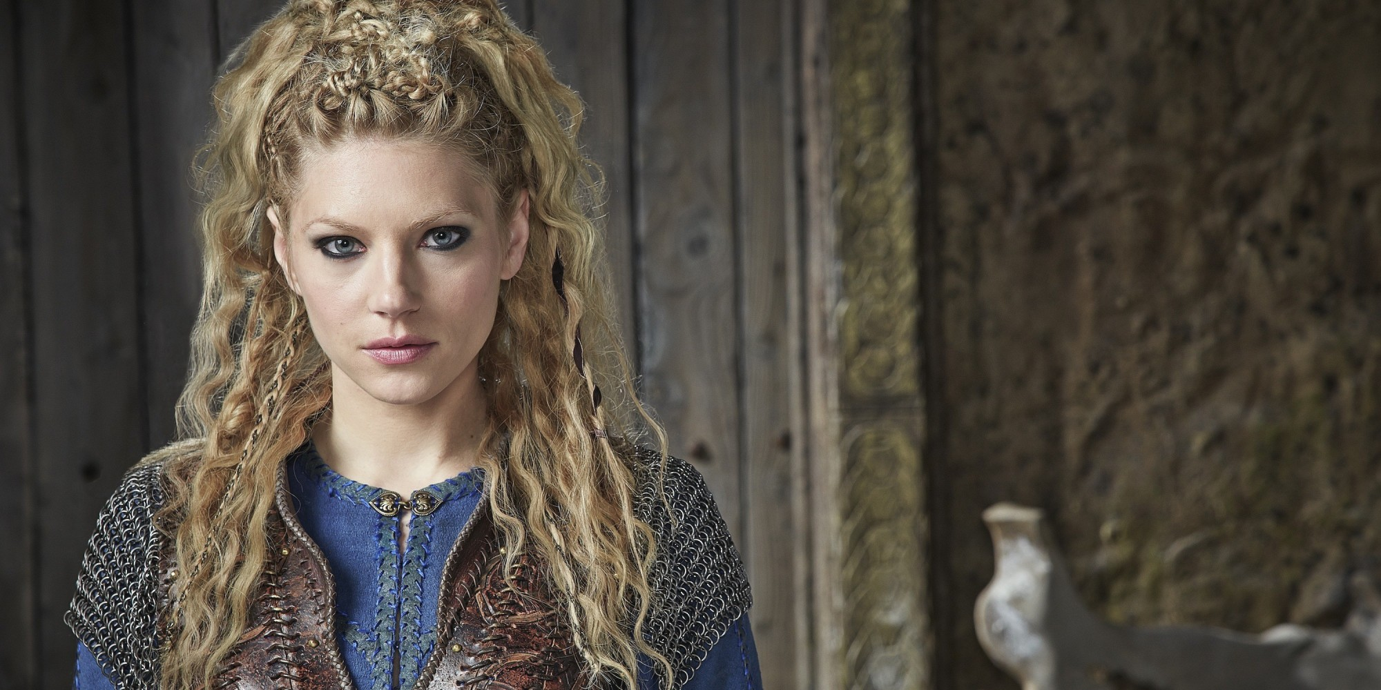 Vikings Lagertha Hairstyle
