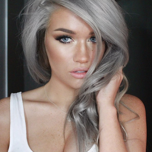gray hairstyle inspiration