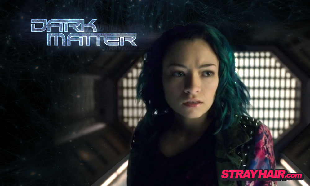 Dark Matter Jodelle Ferland featured hair color