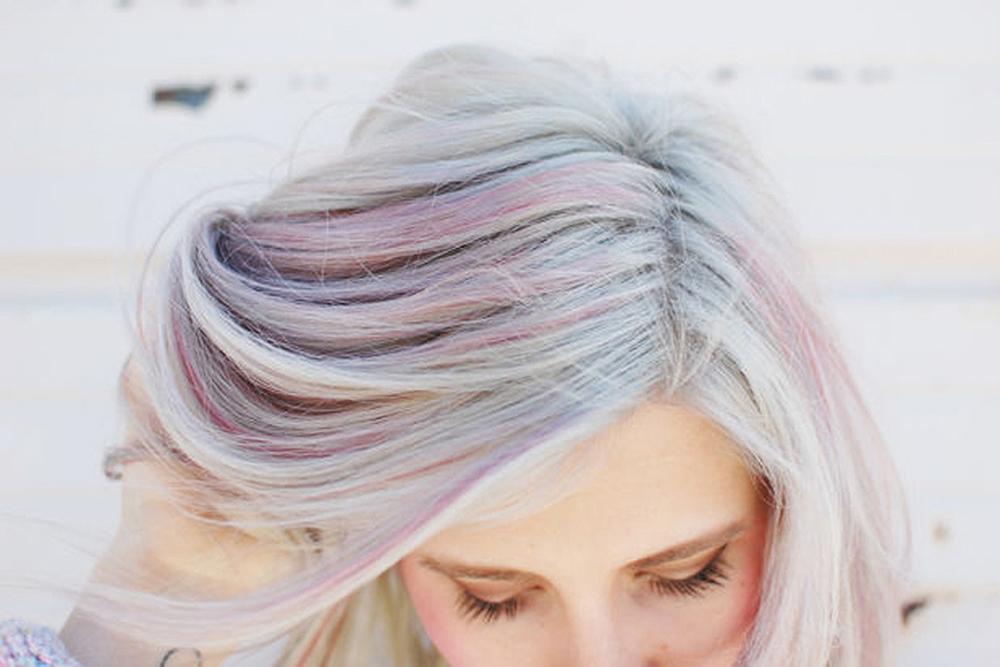 light pastel opal hair color