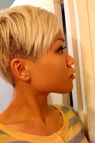 short undercut hair