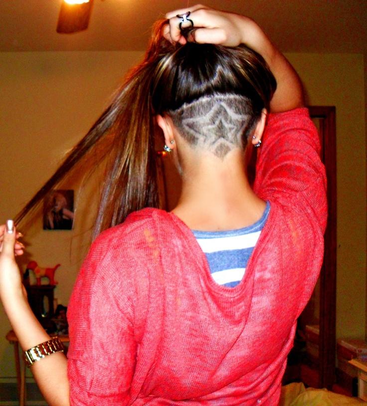 undercut_hairstyle_designs_star