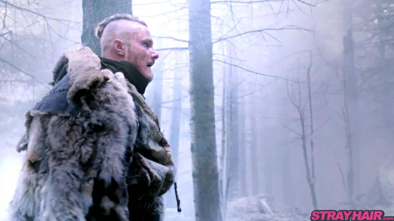 Bjorn Lothbrok Alexander Ludwig Vikings season 4 hairstyle