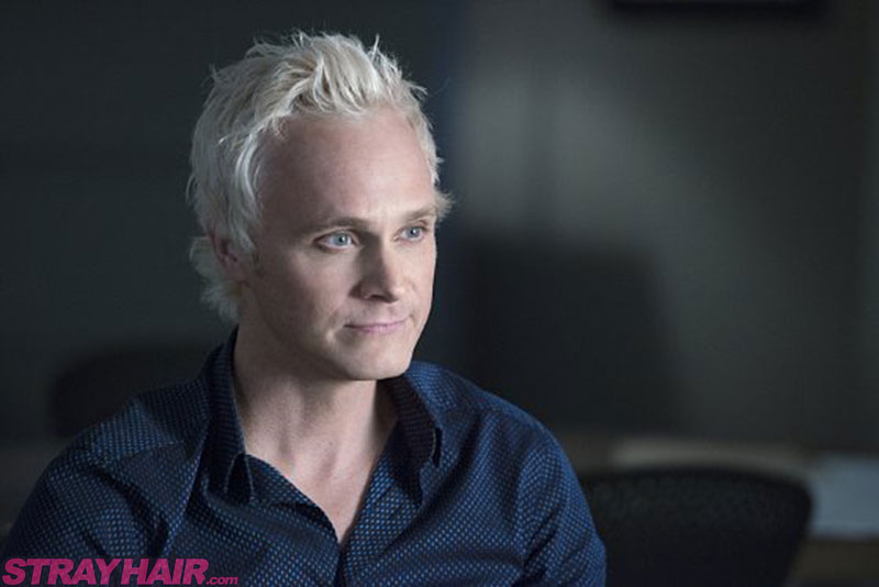 David Anders in iZombie with white hair