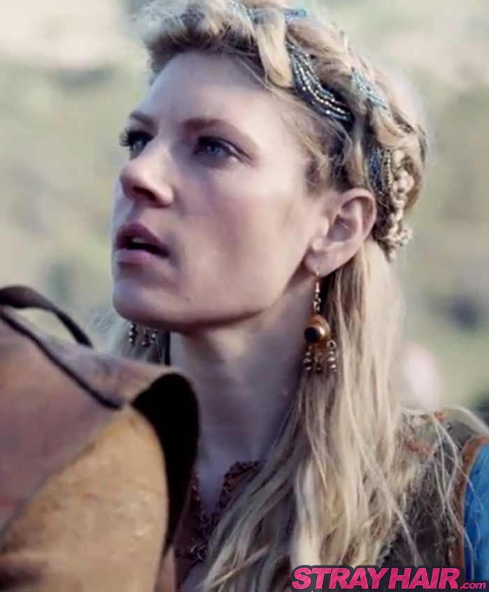 Lagertha Vikings hairstyles