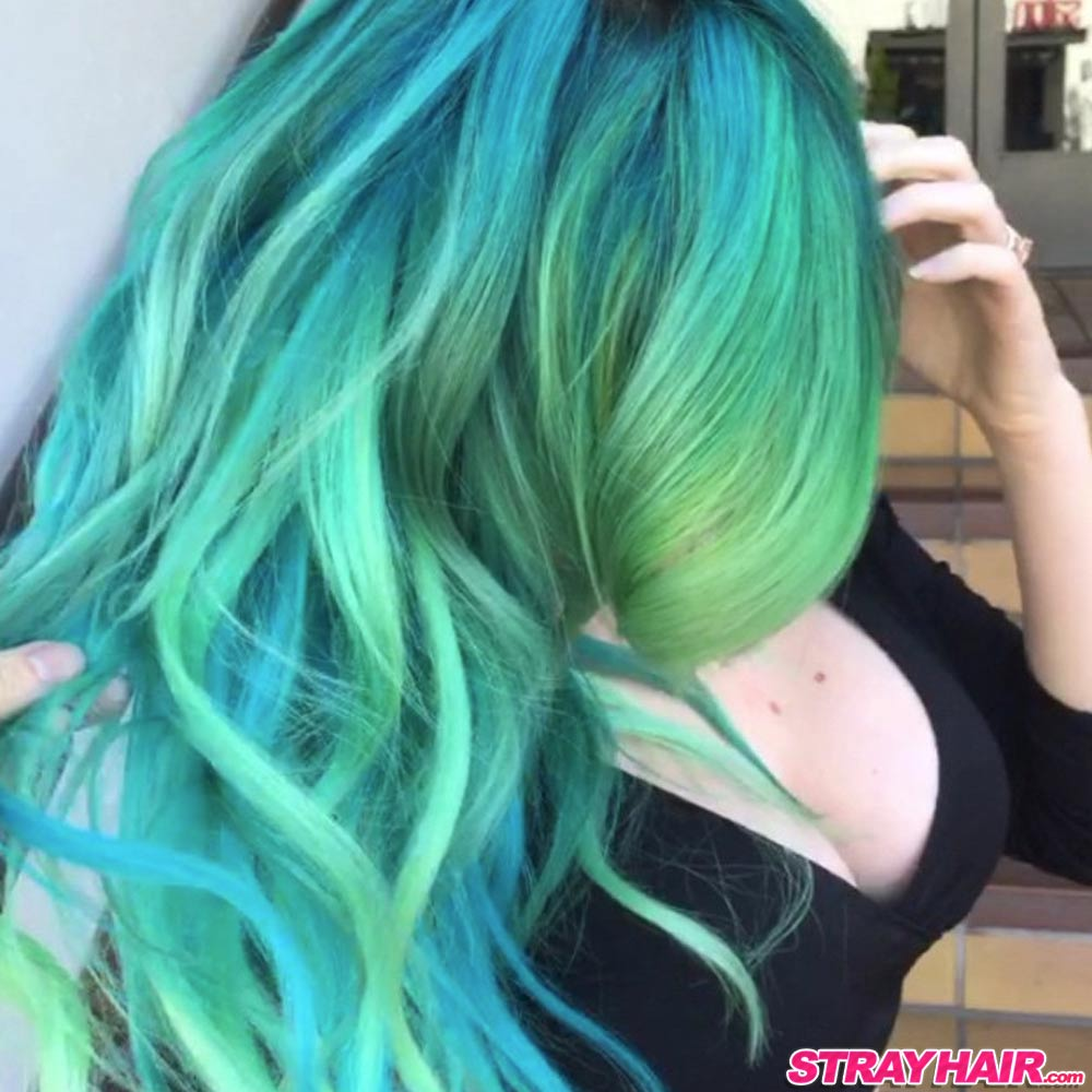 Northern Lights hair color