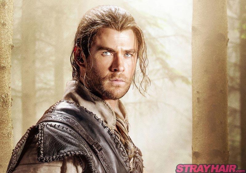 The Huntsman Winters War Chris Hemsworth Eric long hair