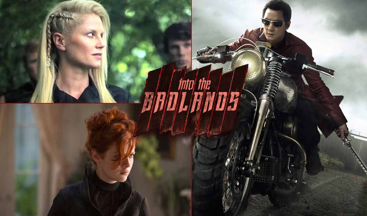 Zypher Sunny The Widow Into the badlands badass hairstyles