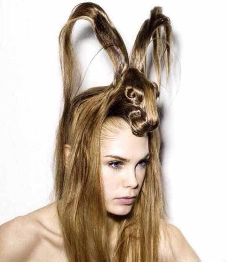 deer hairstyle