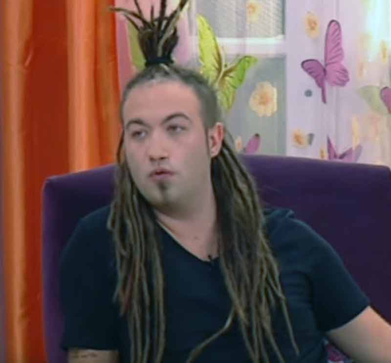 dread locks mullett hairstyle