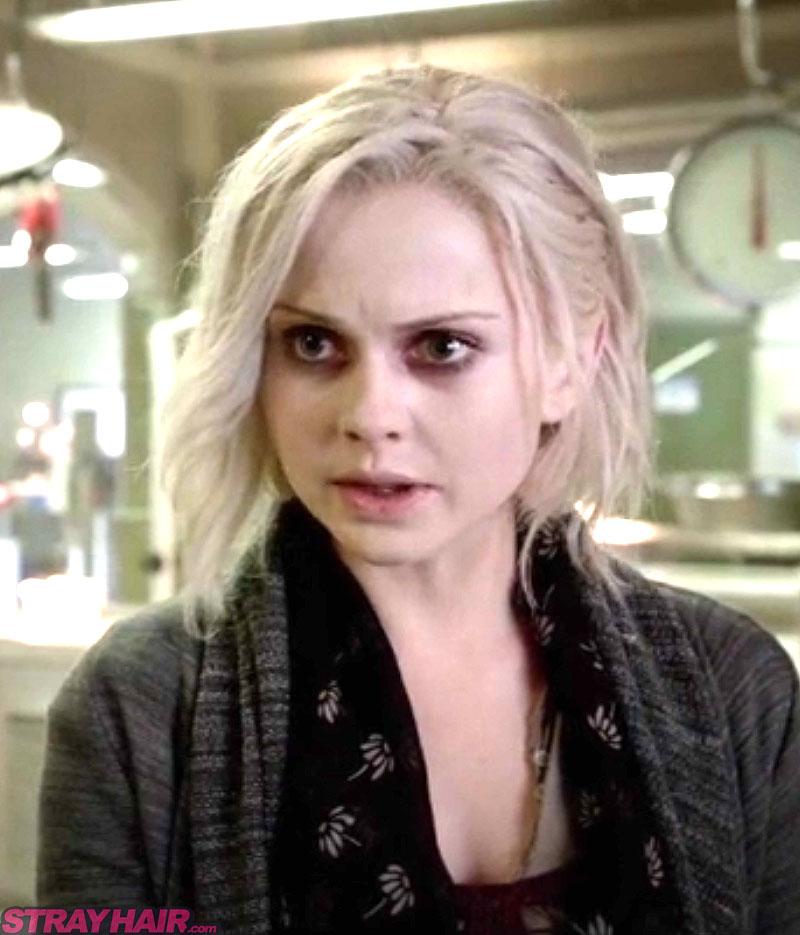 iZombie tv show white haircolor Rose Mclver as Liv Moore