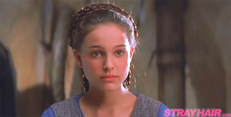 Epic Hairstyles For Natalie Portman In Star Wars Episode 1 The Phantom Menace Strayhair
