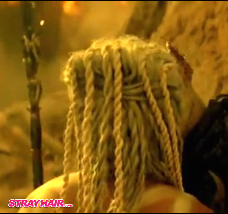 Evil Changeling blonde twists Hairstyle The Shannara Chronicles