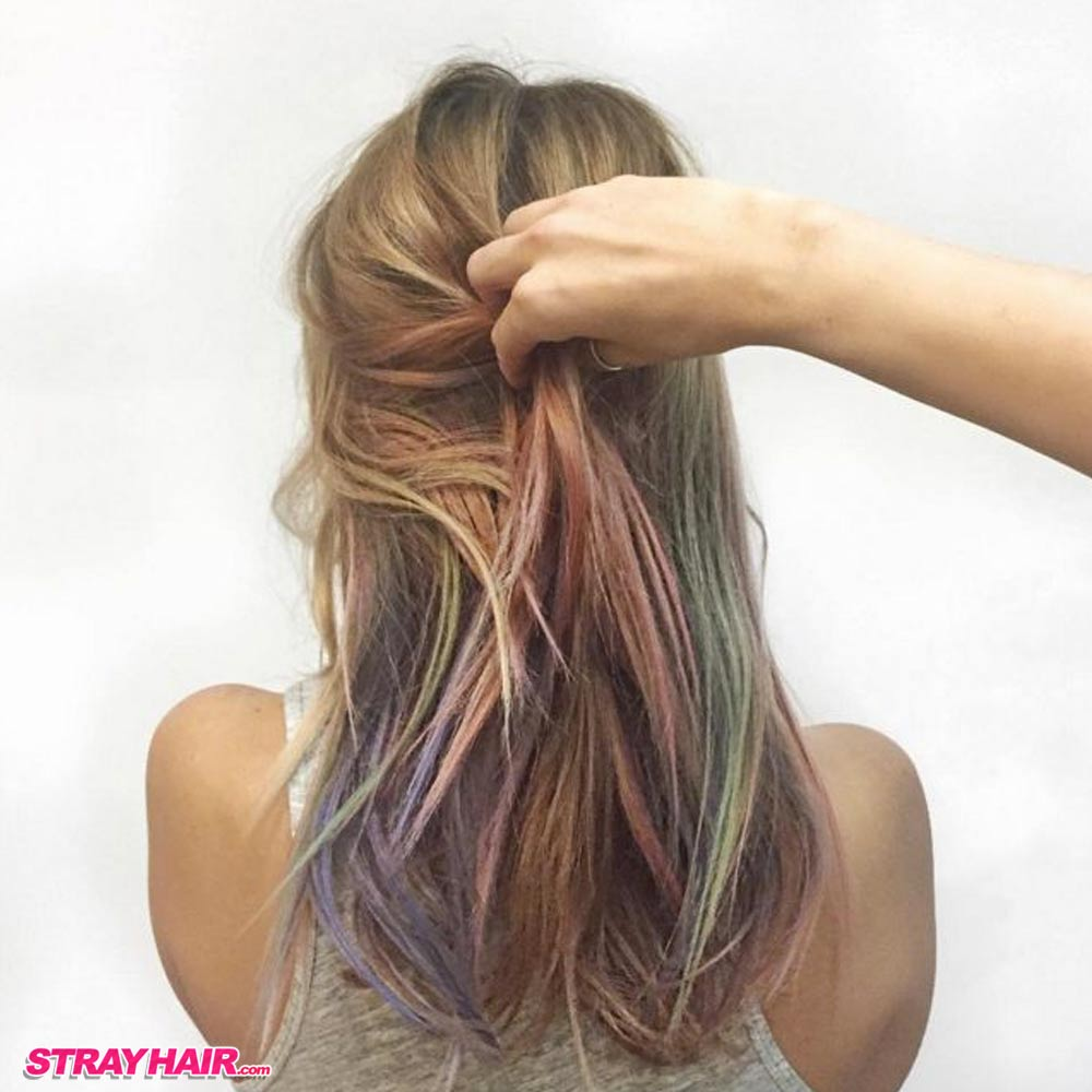 2016 hair trends according to pinterest strayhair for Fluid hair painting