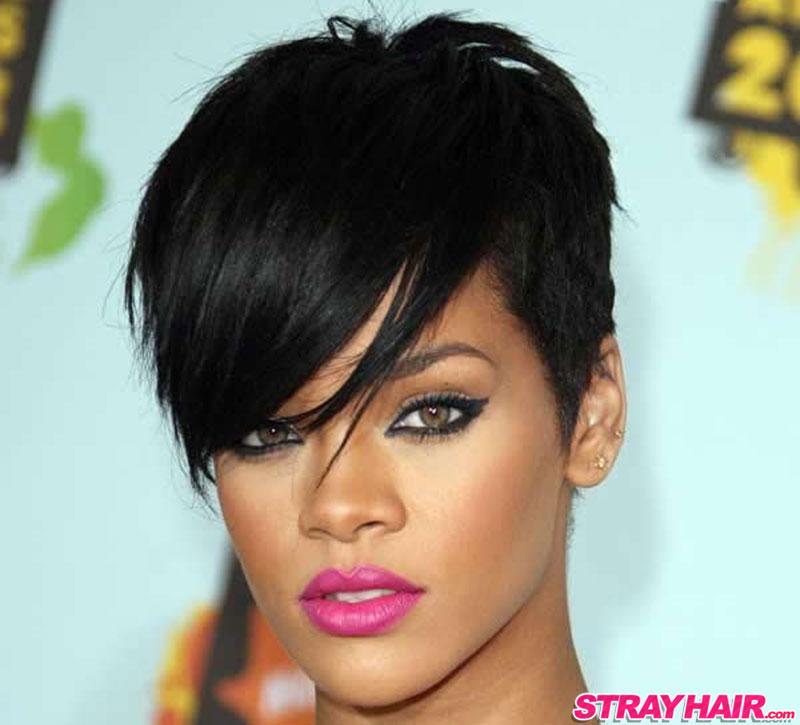 Rihanna amazing short hairstyle