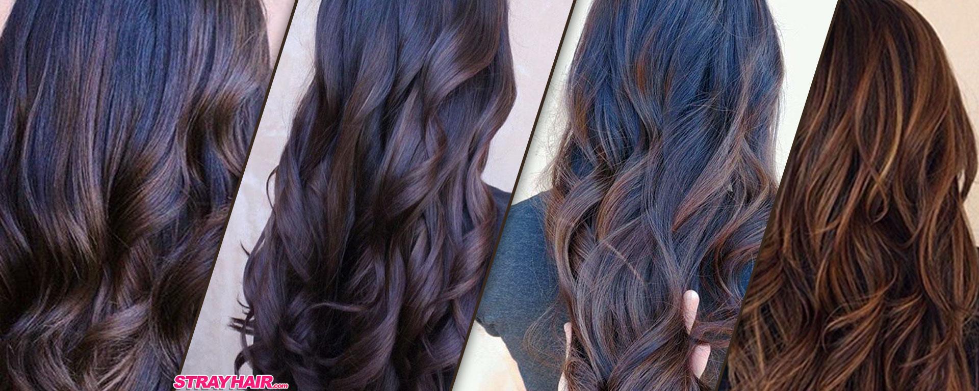 Beautiful Chocolate And Caramel Balayage Hair Strayhair